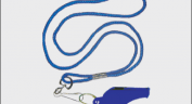 Whistles & Lanyards  ::  Plastic Whistle with Lanyard